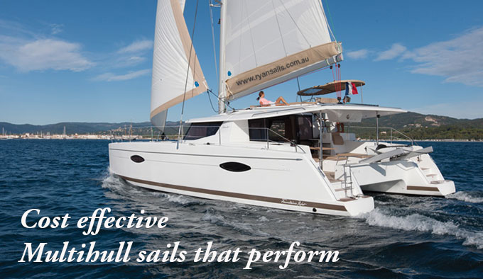 ryan cruising multihull sails