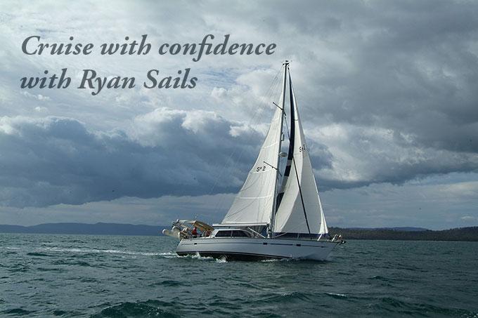 buizen 48 cruising with Ryan Sails