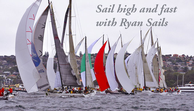club racing sails by ryan sails